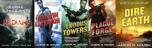Cross-interview: Dystopias and Hope for the Future with Karina Sumner-Smith and Jason M. Hough - December 18, 2014