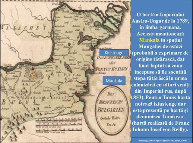 Harta a Imperiului Austro-Ungar 1789