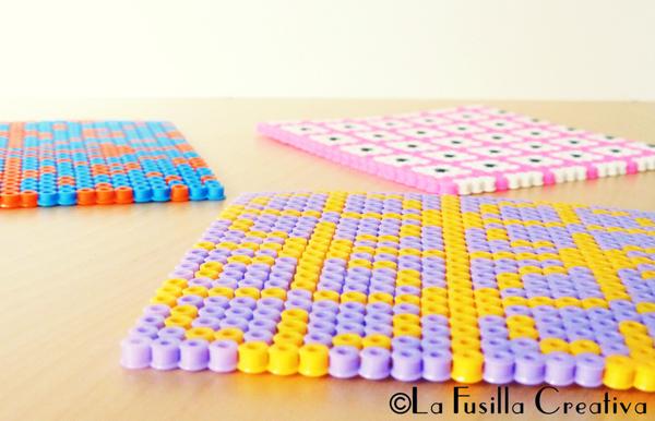 La fusilla creativa idee per decorare casa con le hama beads for Come costruire una casa per meno di 100k