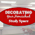 Decorating Your Homeschool Study Space