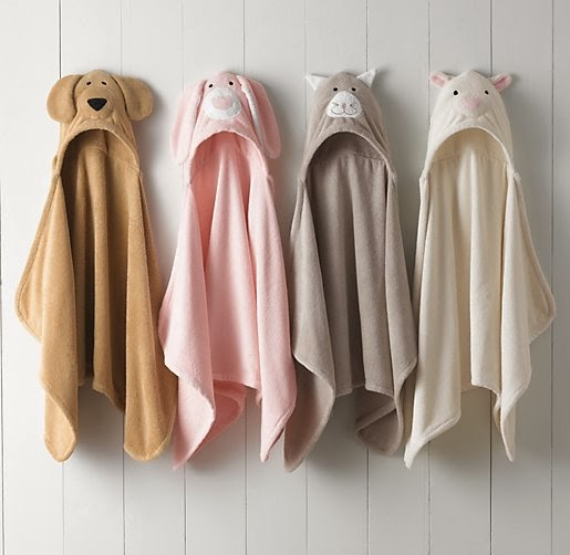 To Da Loos Too Cute Animal Hooded Terry Cloth Towels