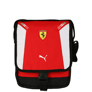 Puma Men's Ferrari Replica Portable Bag - Rosso/White/Black