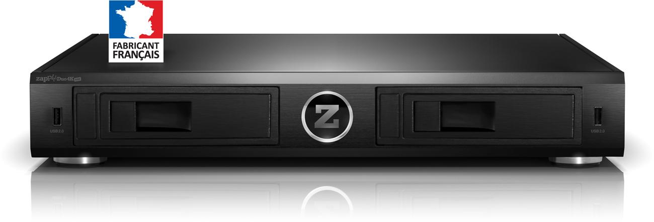 Le Blog Hd Land Test Des Zappiti One 4k Hdr Mini Et Duo