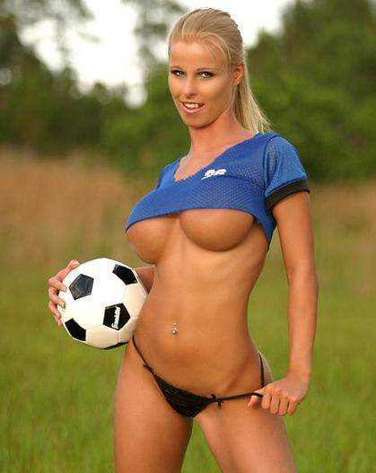 Sexy Naked Women Soccer Players 115