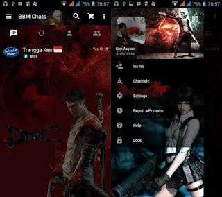 BBM MOD Devil May Cry V3.0.0.18 APK Terbaru 2016