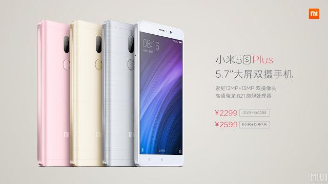 Preço do Xiaomi Mi5s Plus - Onde Comprar