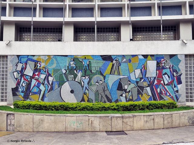 Vista do Mosaico Di Cavalcanti - Novotel São Paulo Jaraguá - São Paulo