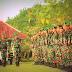 Suko Pranoto Buka Penyerahan Simbol peleton Beranting Yudha Wastu Pramuka Jaya
