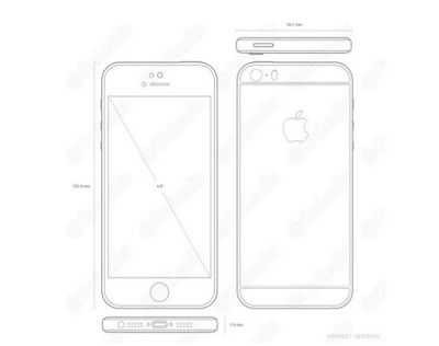 Nuevo iPhone 5Se: se filtra su diseño