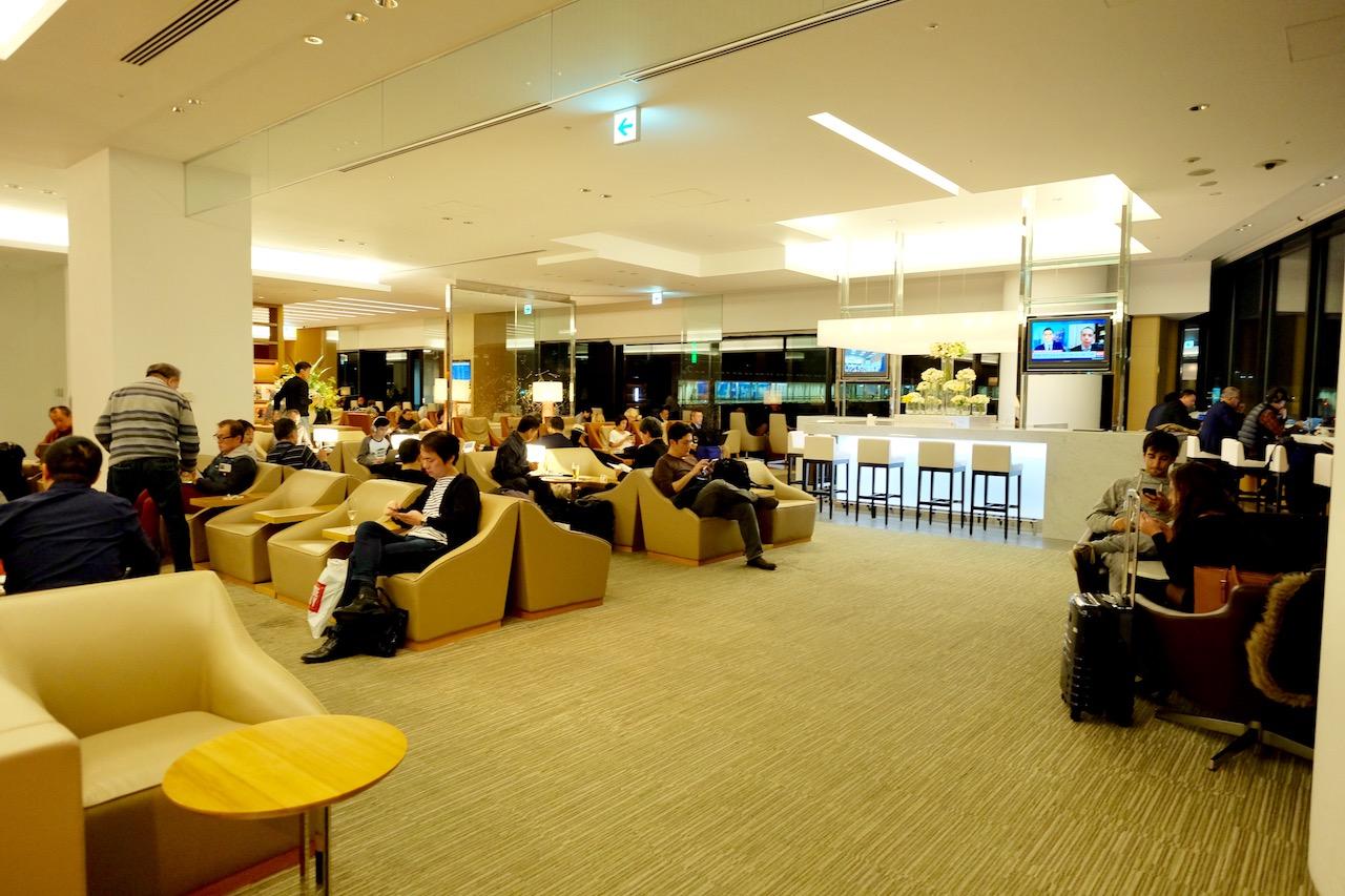 Japan Airlines Sakura Lounge (Business Class) NRT