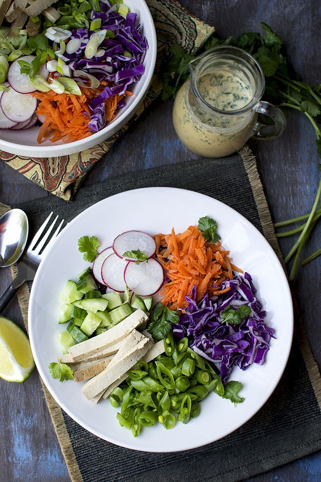 Vegan Thai Coconut Lime Dressing