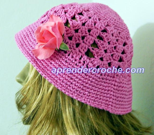 Como fazer Chapéu em Crochê Aprender Croche Passo A Passo Iniciantes com EdinirCroche