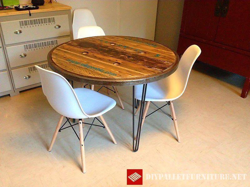 Mesas con la parte superior de una for Partes de una mesa