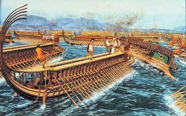 Η ναυμαχία της Σαλαμίνας - Περσικοί πολέμοι