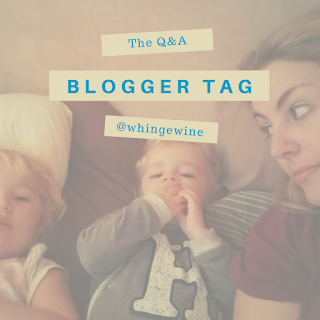 The Q&A Blogger Tag: More about me!