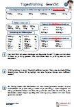 Gewicht Kilo Textaufgabe 4.Klasse PDF