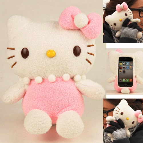 Pink Hello Kitty iPhone case - gift idea