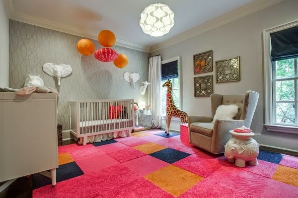 Fotos de dormitorios para beb s ni as dormitorios - Alfombra habitacion bebe ...