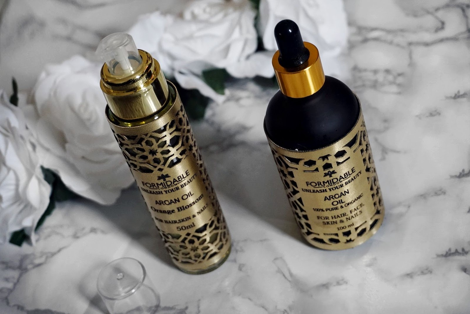 THE MOROCCAN SECRET GOLD OIL FOR HAIR AND SKIN BY FORMIDABLE LONDON