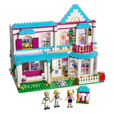 JUGUETES - LEGO Friends  41314 La Casa de Stephanie  2017 | Edad: 6-12 años  Comprar en Amazon España