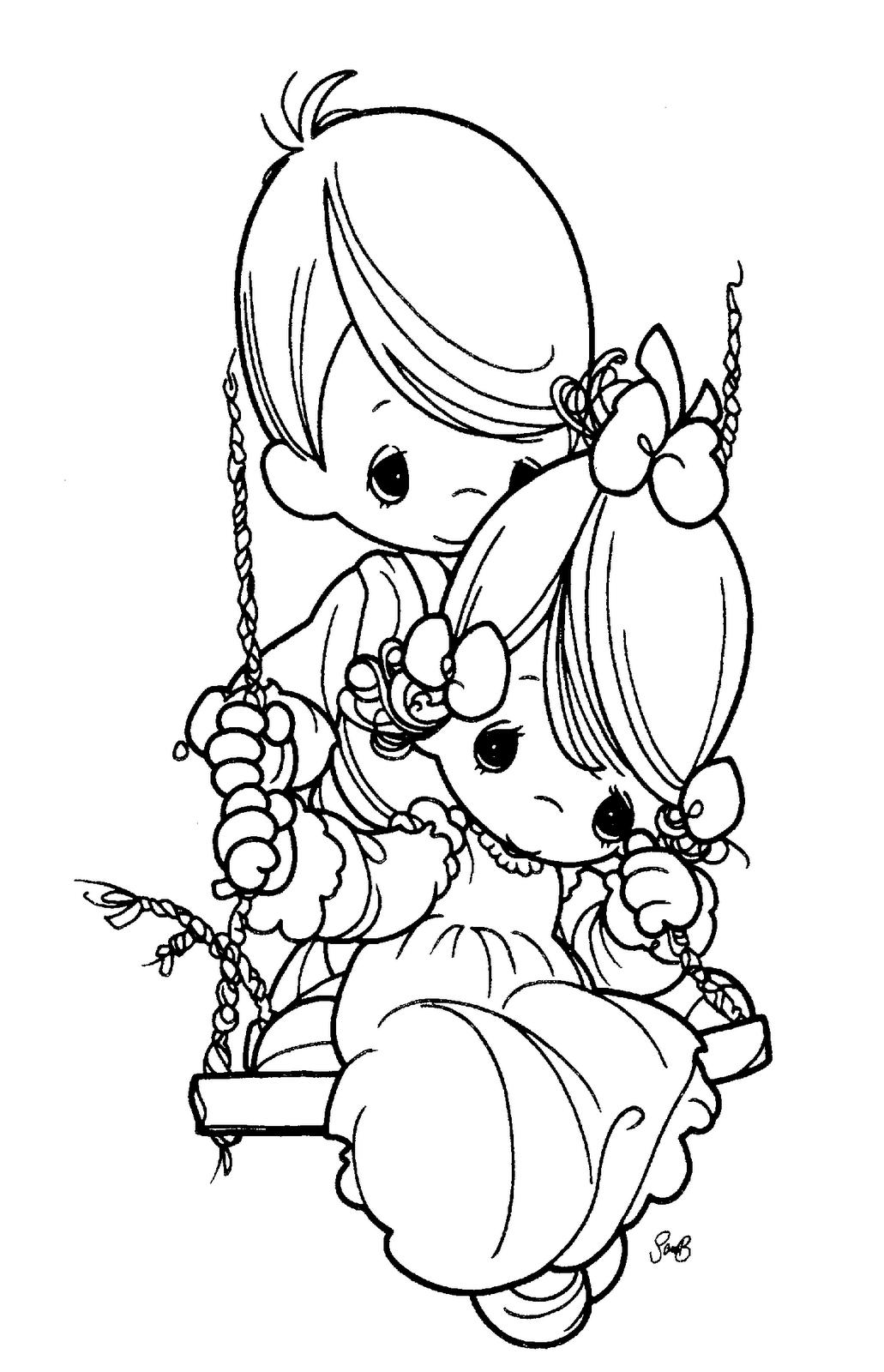Desenhos De Amigos E Amizade Para Colorir Pintar Imprimir