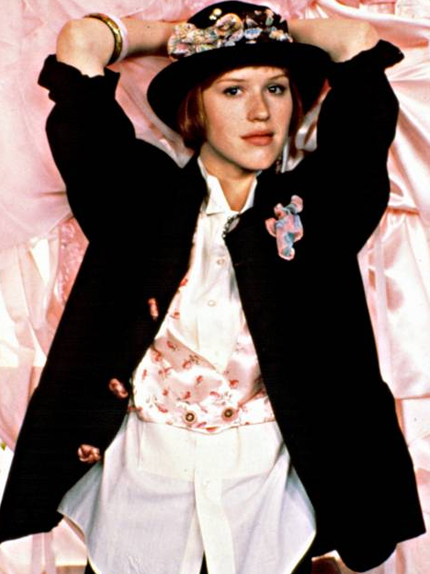 fashionfortherecord: Style Icon: Molly Ringwald