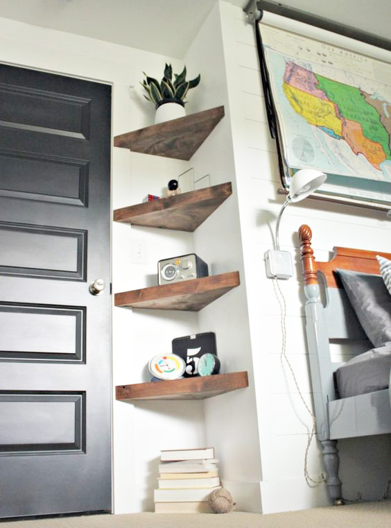 sp cial petits espaces 30 solutions gain de place blog d co mydecolab. Black Bedroom Furniture Sets. Home Design Ideas