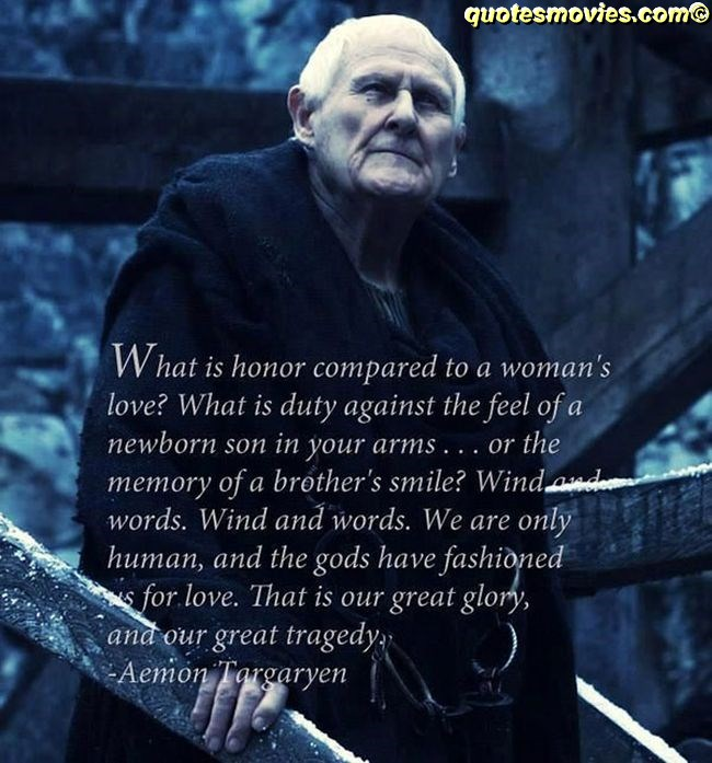 Aemon Targaryen quote