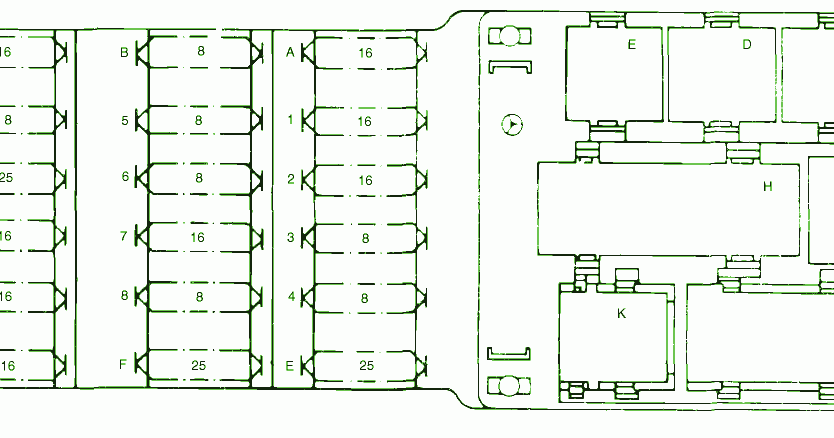 peugeot 306 phase 2 fuse box