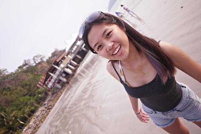 Nicole Cynnie - Cenang Beach, Langkawi