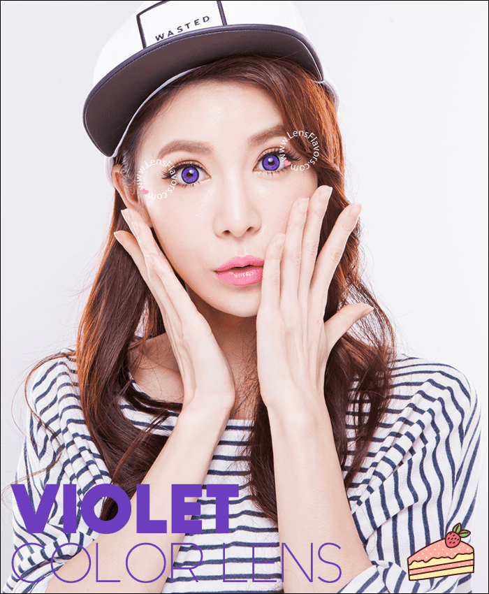 eos dolly eye violet colored contacts