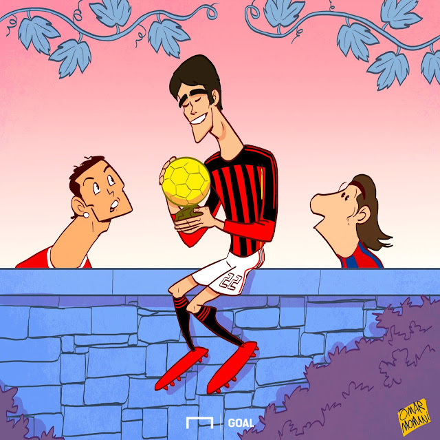 Kaka cartoon
