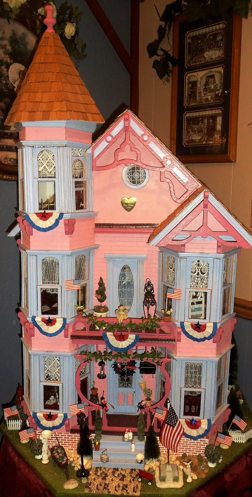 Summer Patriotic Doll House, 2017