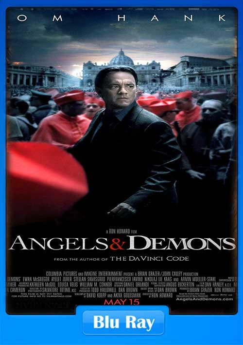 Angels And Demons 2009 EXTENDED 480p BRRip 450MB x264 Poster