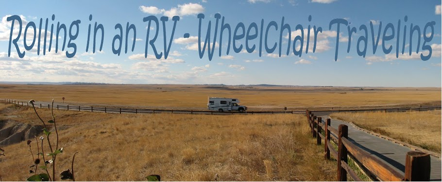 ........Rolling in an RV - Wheelchair Traveling......
