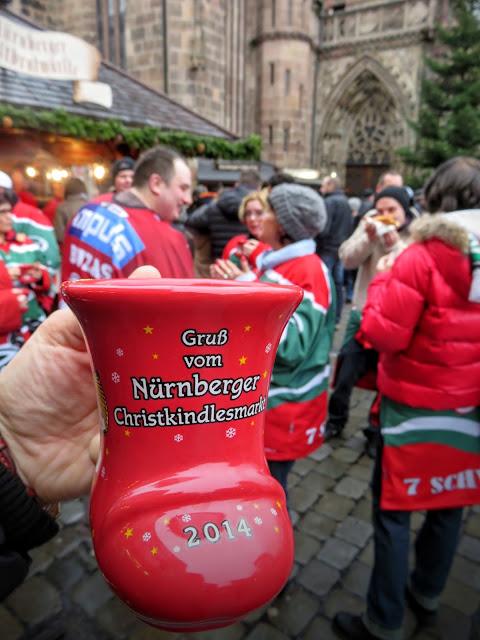 Nuremberg Christmas Market mugs