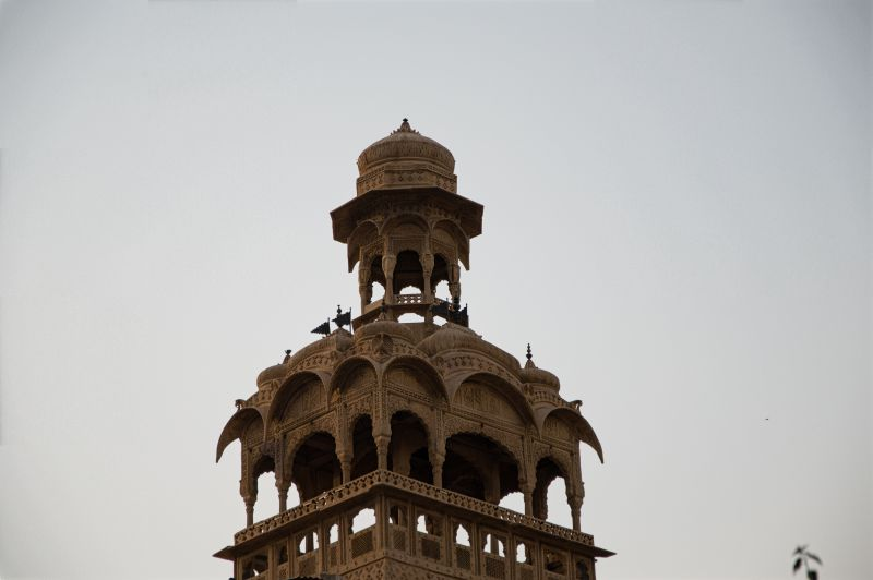 Tazia Tower at ManMandir Palace