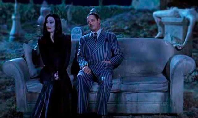 Cena Família Addams com Angélica Houston e Julio Farias