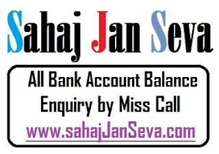 All Bank Balance Enquiry Miss Call Number