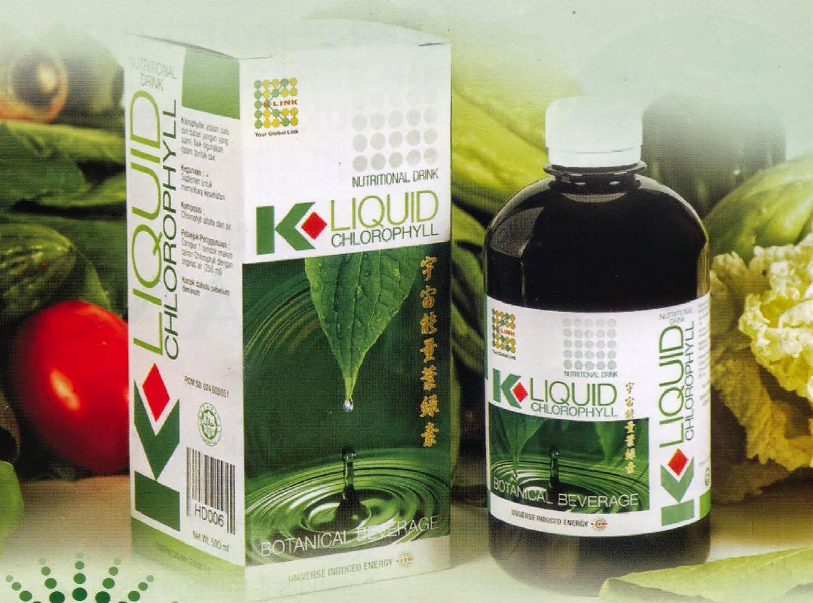 K-Liquid Chlorophyll / Klorofil K-Link murah