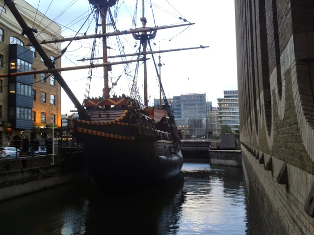 The Golden Hinde Boat