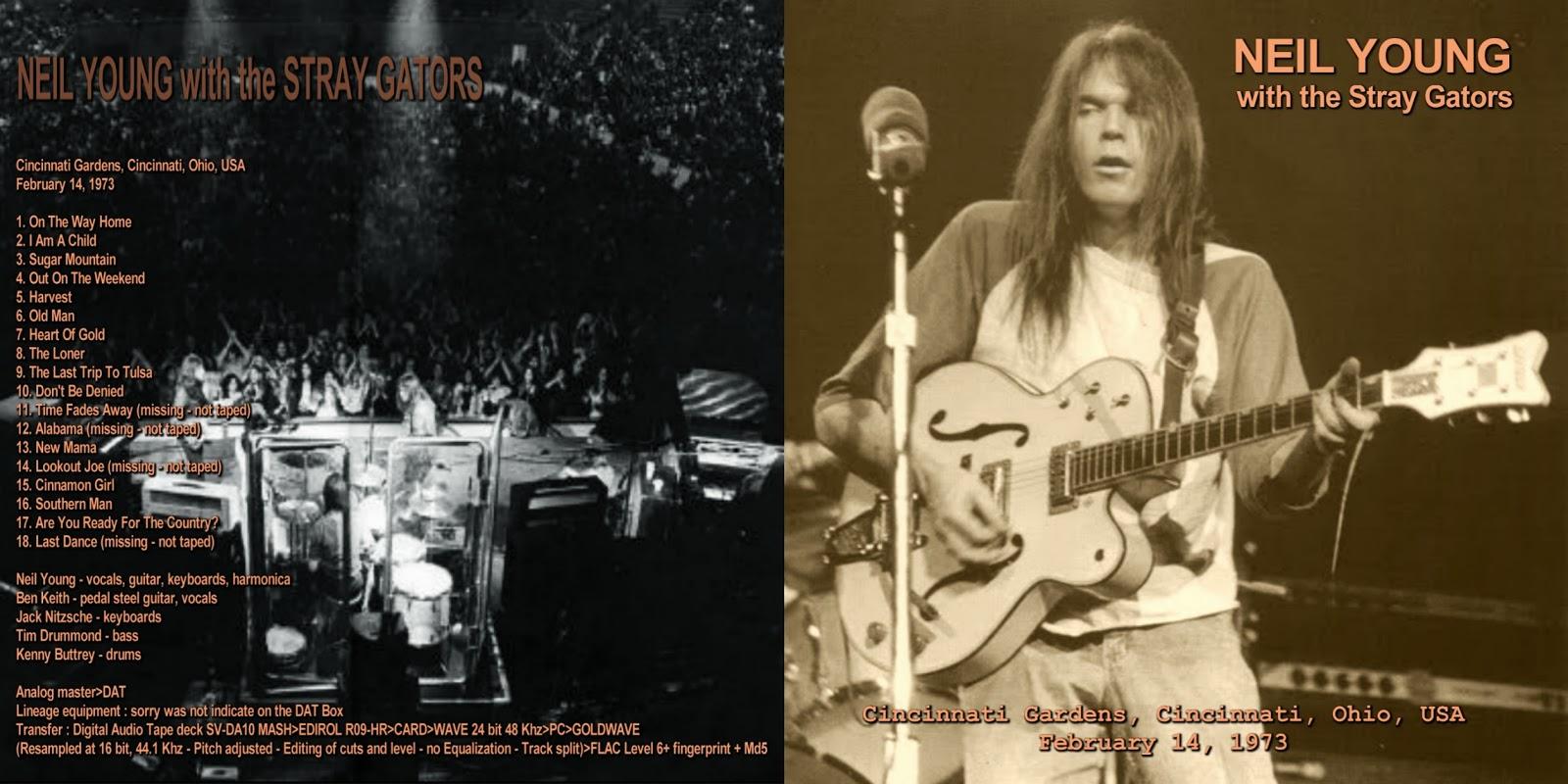 PLUMDUSTY'S PAGE: Neil Young 1973-02-14 Cincinnati Gardens ...