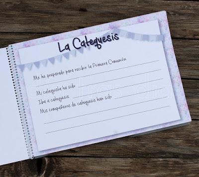 Libros de firmas personalizados Primera Comunión