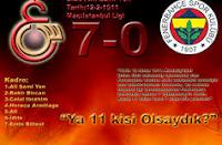Ali Sami Yende 7-0 Biten Tarihi Maçlar
