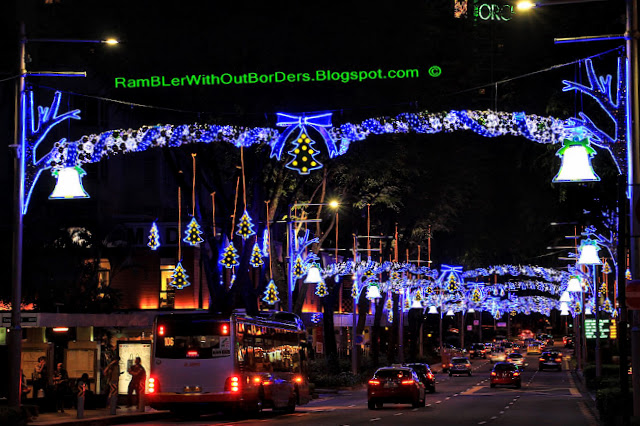 Christmas displays and decorations, Tanglin Road, Singapore