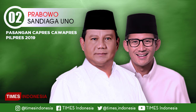 BPN Ungkap Naiknya Elektabilitas Prabowo-Sandi Lampaui Jokowi-Maruf