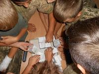 фото кадети збирають пазл Софії Київської