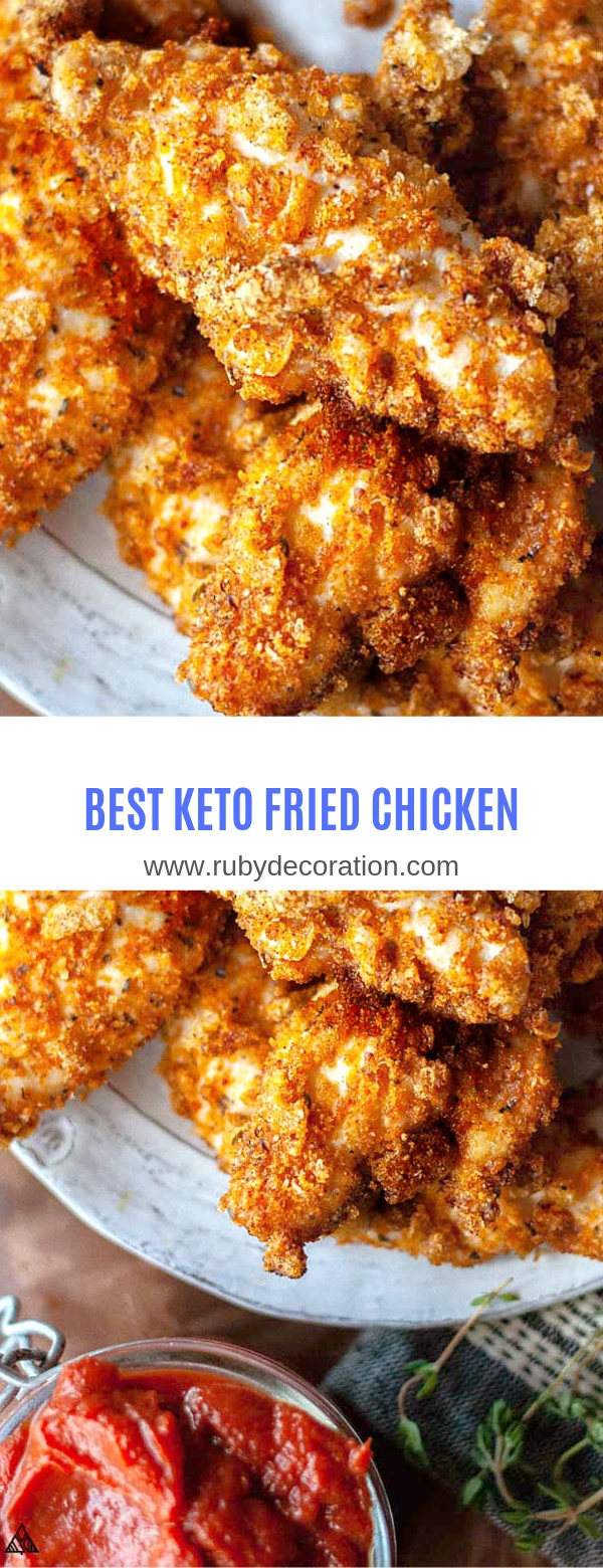 BEST KETO FRIED CHICKEN