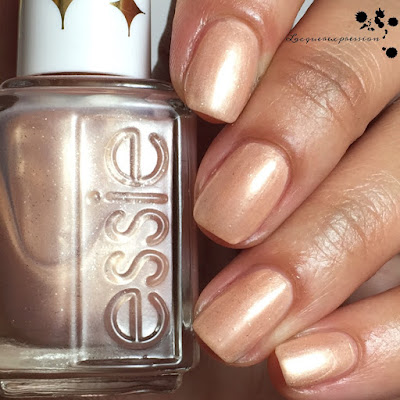 nail polish swatch of Sequin Sash by Essie