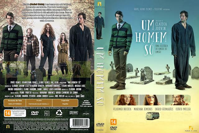 Capa DVD Um Homem Só